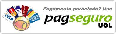 Para pagamento com cartao de credito, clique COMPRAR e selecione PAGSEGURO.